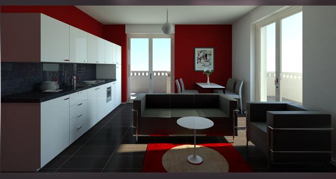 Guest house residence appartamenti in affitto a malpensa for Affitti monolocali palermo arredati